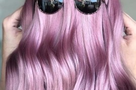 Pastel Purple Hair Colors For Long Hair