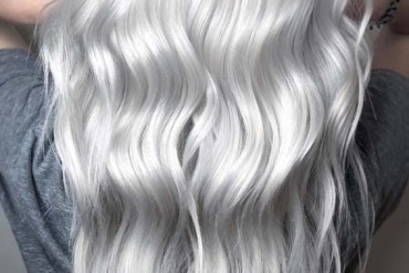 Silver Blonde Hair Color Shades for 2018