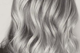 Stormy Silver Grey Hair Color Ideas