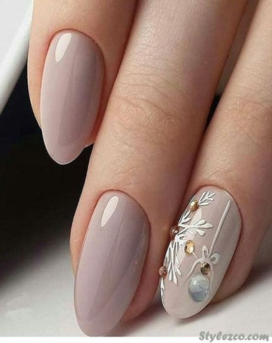 Adorable Nail Art Ideas for Wedding To Wear In 2018