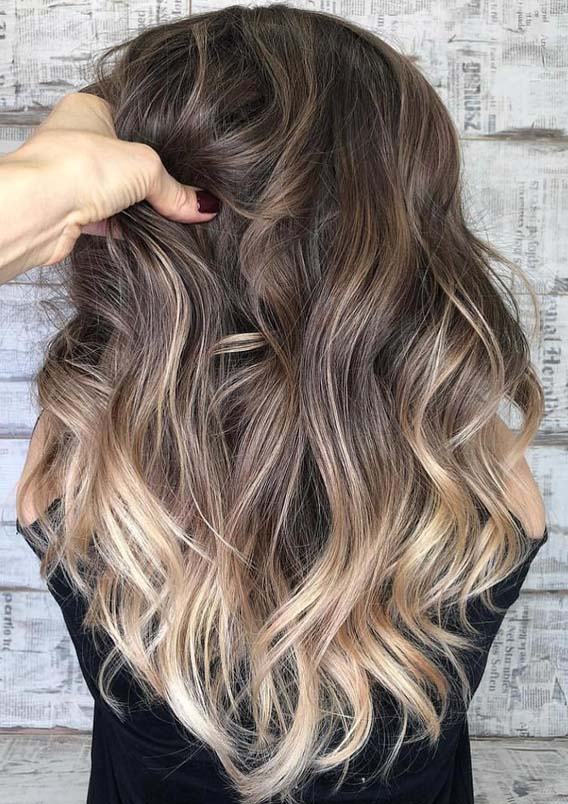 Best Of Balayage Hair Colors & Highlights for 2018