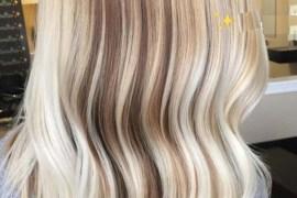 Fall Blonde Lob Styles for Women 2018