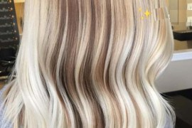 Fall Blonde Lob Styles for Women 2018