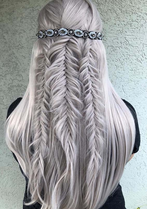 Fantastic Fishtail Braids & Wedding Hairstyles for 2018 | Stylezco