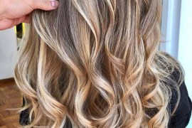 Golden Hair Color Contrasts in 2018