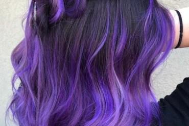 Marvelous Purple Colored Braid Styles in 2018