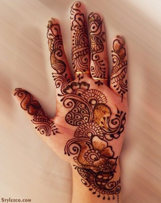 Latest Mehndi Design Ideas for Your Hand In 2018