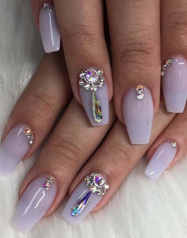 Superb Pastel Violet Nail Art Designs You Must Try In 2018 Stylezco