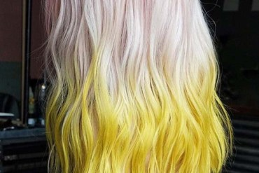 Perfection Of Pink & Yellow Hair Color Ideas for 2018