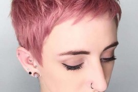 Pixie Pink Haircuts for Women 2018