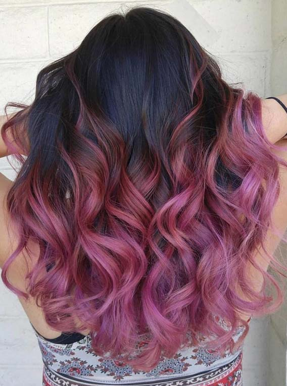 Stunning Purple Beach Waves in 2018