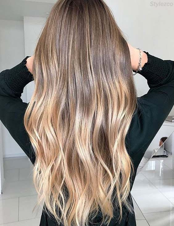 Balayage Ombre Highlight For Long Hair In 2018 Stylezco