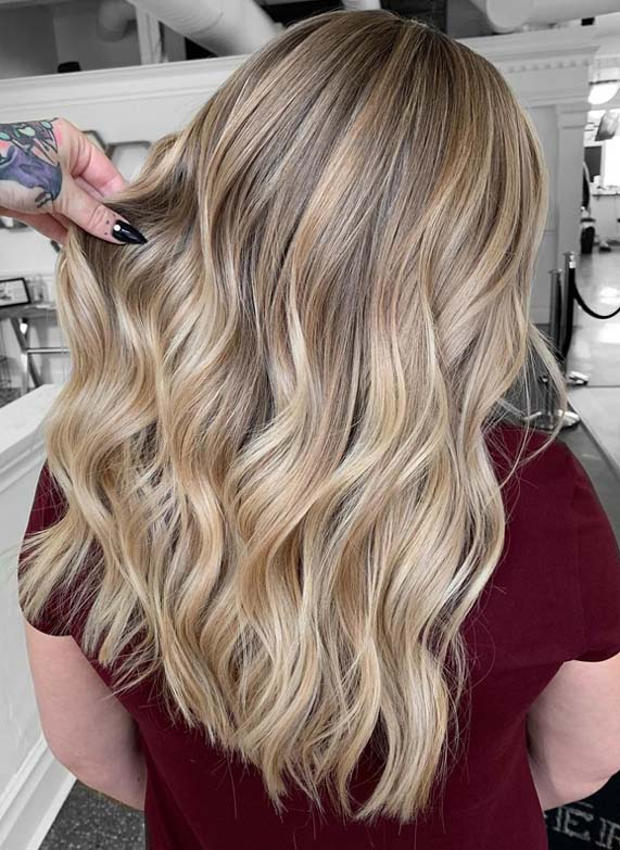 Fresh Blonde Balayage Highlights in 2018