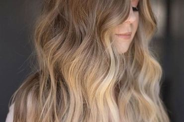 Gorgeous Long Curly Waves Hairstyle Ideas for 2018