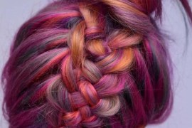 Magical Braided Bun Hairstyles With Top Knot in 2018