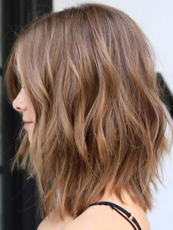 Best Medium Length Wavy Haircuts For Every Woman 2018 Stylezco