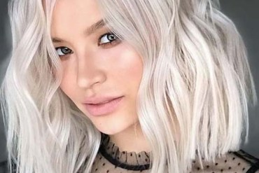 Perfect Platinum Pearl Hair Color Trends in 2018