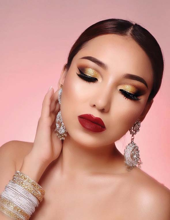 Pretty Makeup & Beauty Trends for Fall Autumn 2018-2019 | Stylezco