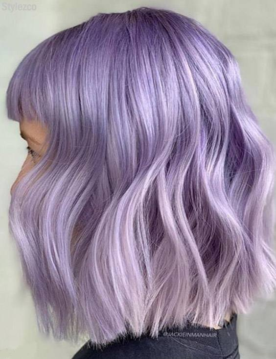Quick Easy Purple Hair Color Ideas For Short Hair In 2018 Stylezco