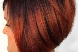 Stacked Bob Red Haircuts for Women 2018