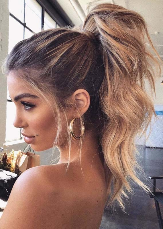 Stunning Ponytail Hairstyles To Try on Special Occasions in 2018 | Stylezco