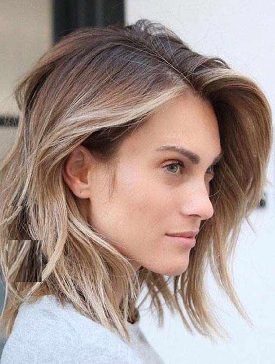 Favorite Tousled Medium Hairstyles To Copy Nowadays Stylezco
