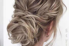 Adorable Wedding Day Hairstyle Ideas & Trends for 2018-2019