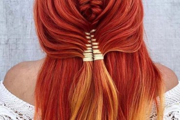 Gorgeous Copper Red Hair Colors & Hairstyles for 2019