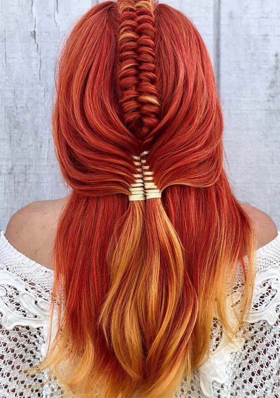 Gorgeous Copper Red Hair Colors Hairstyles Ideas For 2019