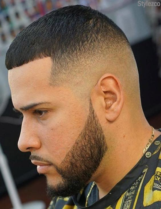 Men S Short Haircut Style With Cute Beard For 2019 Stylezco