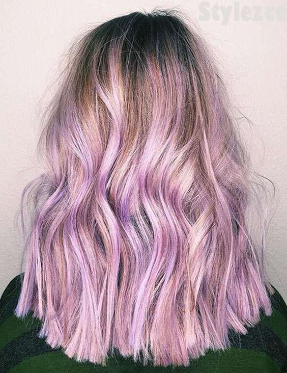 Shaggy Hair Coloring Technique & Tips for 2018-2019