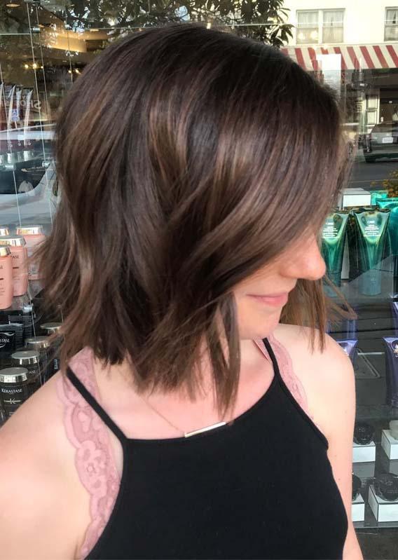 Short Textured Bob Haircuts in 2019