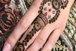 Simple & Cute Mehndi Style & Design for Girls