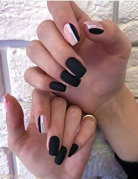 Simple Easy Nail Art Design Style For 2019 Stylezco