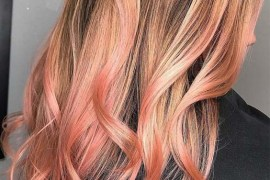Softest Baby Pink Balayage Hair Colors in 2019