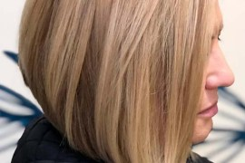 Blonde Bob Haircut Styles for Women 2019