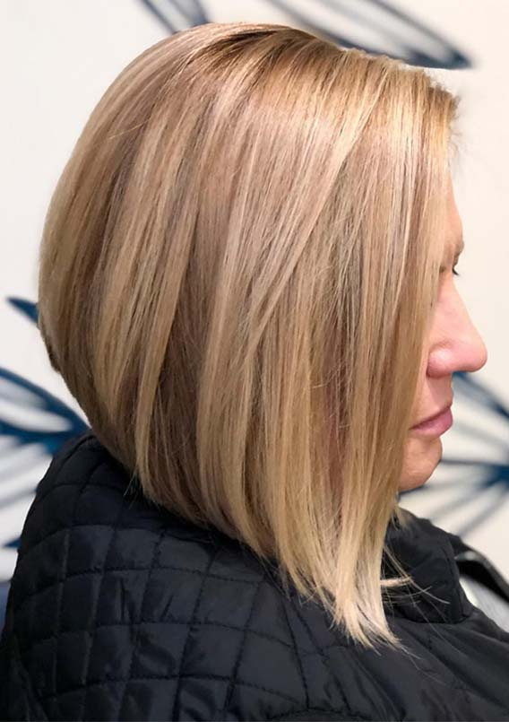 Blonde Bob Haircut Styles for Women 2019