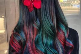 Gorgeous Rainbow Hair Color Ideas for Long Hair