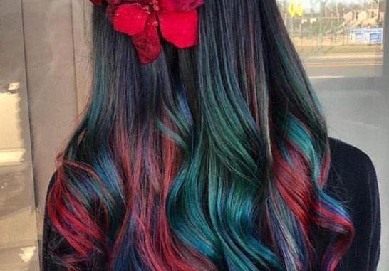 Gorgeous Rainbow Hair Color Ideas For Long Hair Stylezco