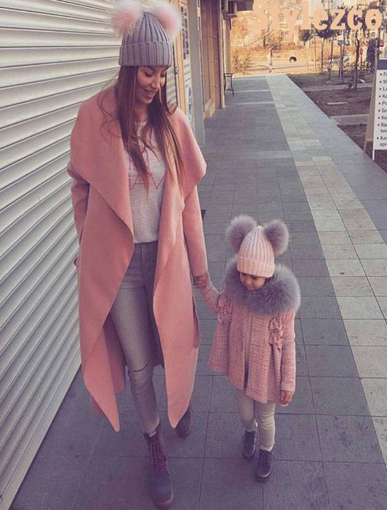 Inspirational 2019 Matching Outfit Ideas of Mom & Daughter
