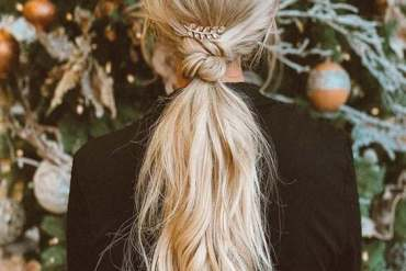 Knot Ponytail Hairstyle Trends To Look Chic In 2019