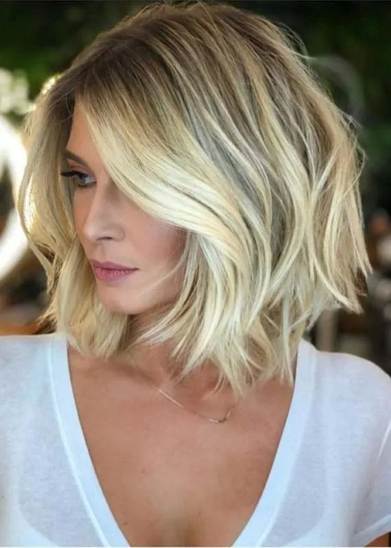 Medium Length Blonde Haircuts to Create in 2019
