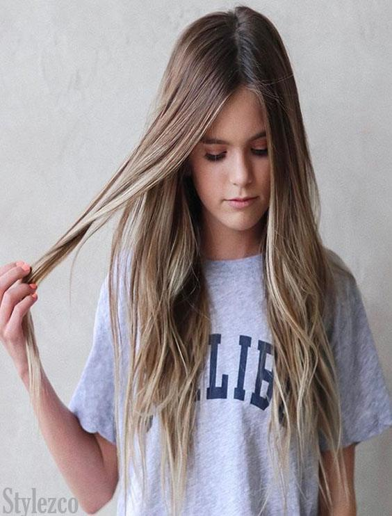 School Girls Hairstyle Ideas for Long Hair In 2019