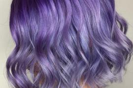 Adorable Purple Hair Color Ideas for Short Hair In 2019