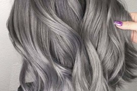 Amazing Dark To Light Grey Hair Color And Hairstyles for 2019