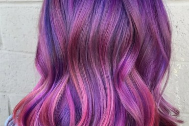 Awesome Pink & Blue Hair Color Ideas & Combination for 2019