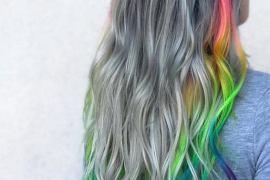 Fresh Rainbow Hair Color Ideas to Rock In 2019