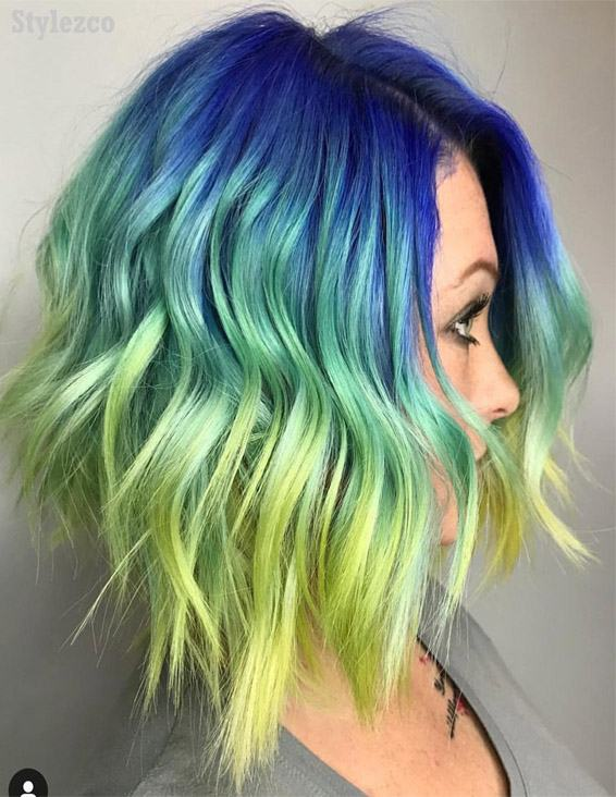 Mind Blowing Hair Color Ideas For Short Hair In 2019 Stylezco