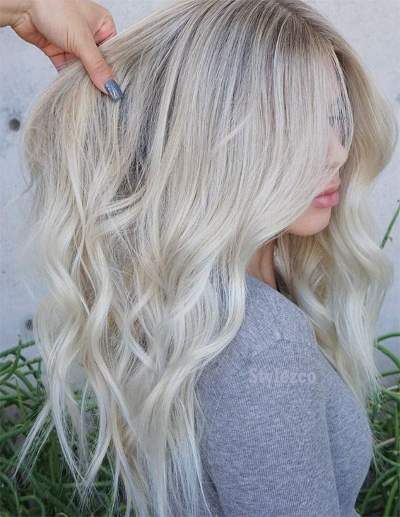 Perfect Long Blonde Hair Ideas & Styles In 2019