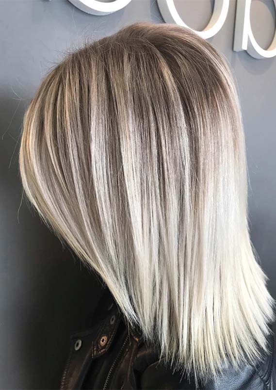 Fantastic Shoulder Length Blonde Haircuts For Every Woman